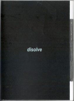 Disolve portada